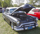 Black 1952 Oldsmobile Super 88 — Stock Photo