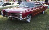 Red 1966 Pontiac — Stock Photo