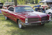 Red 1966 Pontiac Side View — Stock Photo