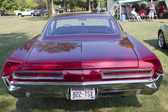 Red 1966 Pontiac Rear View — Stock Photo