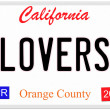 California Lovers — Stock Photo