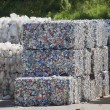 Bundles of Aluminum Cans — Stock Photo