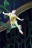 Peter Pan Flying — Stock Photo