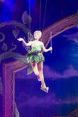 Tinker Bell Leaves Waving — Stock Photo
