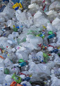 Pile of plastic Recyclables — Stock Photo