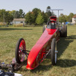 Red Drag Racer — Foto Stock