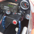 Red Drag Racer Interior — Stock Photo