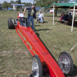 Red Drag Racer Front View — Photo