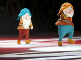 Bashful and Happy Dwarves — Stock Photo