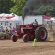 Stock Photo: International Turbo Bushville Lanes Tractor Smoking