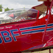 Red Pitts S-2C Plane Close Up — Stock Photo #19749755