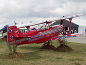 Red Pitts S-2C Plane — Stock Photo