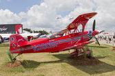 Red Pitts S-2C Plane Side View — Stock Photo