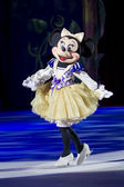 Minnie Dressed Up Taking a Curtsy — Stock Photo