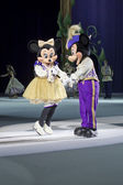 Mickey and Minnie before the dance — Stock Photo