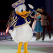 Stock Photo: Donald Duck Waving to Crowd Close Up