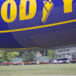 Spririt of GoodYear Blimp Close up on Ground — Stock Photo