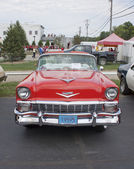 Vista frontal da 1956 chevy bel air — Foto Stock
