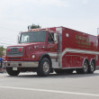 Seymour Rural Fire Department Tanker 1 Truck Side View — Stock Photo