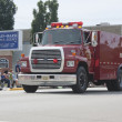 Seymour Rural Fire Department Truck in Parade — Stock Photo