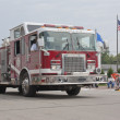 Stock Photo: Pulaski Engine 1112 Firetruck Close up