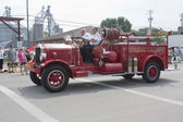 Old Seymour Fire Department Number 1 Truck Side View — Stock Photo