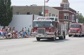 Pulaski Fire Department Engine Truck — Stock Photo