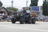Seymour polaris ranger utv bomberos vehículo vista — Foto de Stock