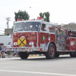 Balsam Court Fire Truck — Stock Photo