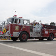 Stock Photo: Balsam Court Fire Truck Side View