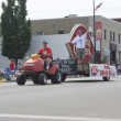 Lawn Mover pulling Dairy Queen Float — Stock Photo #21394457