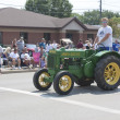 Old John Deere Tractor in Parade — Stock Photo