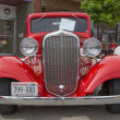 ������, ������: 1933 Red Chevy Coupe Front View
