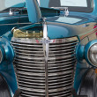1938 Blue Chevy Coupe Close up — Stock Photo