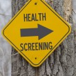 Stock Photo: Health Screening this Way