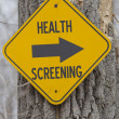 Health Screening this Way — Stock Photo #27014109