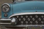 1955 aqua modrý buick speciální auto do zavření — Stock fotografie