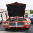 ������, ������: Red 1969 Pontiac Firebird Front view