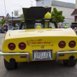 Постер, плакат: Yellow 1968 Chevy Corvette Roadster