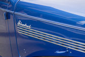 Panel lateral 1939 chevy coupe streetrod — Foto de Stock
