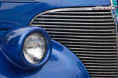 1939 chevrolet coupé streetrod grill vue — Photo
