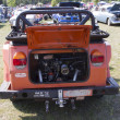 Постер, плакат: 1974 Volkswagen Thing Orange Car Rear View