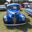 Stock Photo: 1940 Blue Ford Deluxe Car