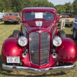 Постер, плакат: 1934 Buick 57 Red Car Front View