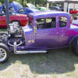 Stok fotoğraf: 1932 Chevy Roadster Purple