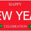Happy New Year License Plate — Stock Photo #37264587