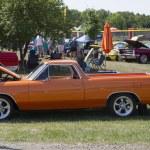 1966 Orange Chevy El Camino — Stock Photo