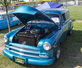 1952 Blue Chevy Delivery Sedan Front View — Foto de Stock