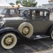 图库照片: 1930 Ford Model Car Side View