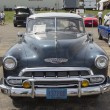 Foto de Stock  : 1952 Chevy DeLuxe Blue
